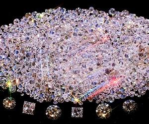 Оригинальная коллекция бриллиантов в Якутии